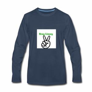 Peace Brand White - Men's Premium Long Sleeve T-Shirt