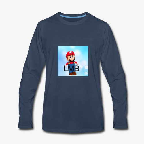 LMB Logo - Men's Premium Long Sleeve T-Shirt