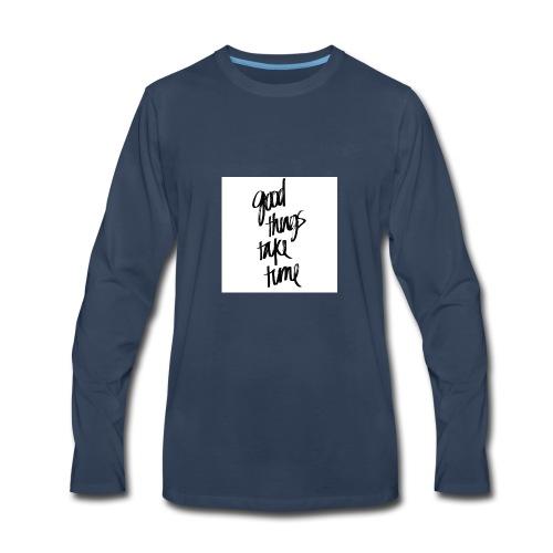 GOOD THINGS phonecase - Men's Premium Long Sleeve T-Shirt