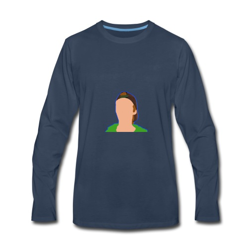 iCanE Cartoon - Men's Premium Long Sleeve T-Shirt