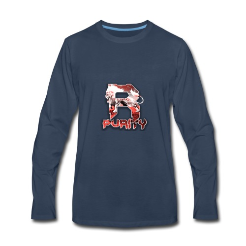 Rose_Purity - Men's Premium Long Sleeve T-Shirt