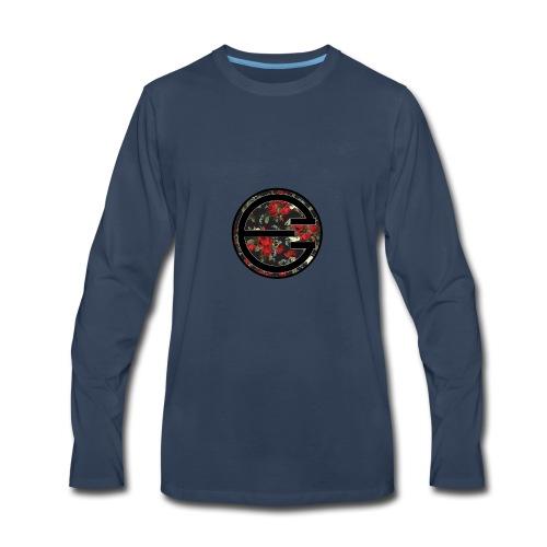 EYELESS 2D FLORAL CIRCLE PHONE CASE. - Men's Premium Long Sleeve T-Shirt