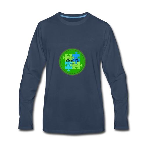Coool T'z Green - Men's Premium Long Sleeve T-Shirt