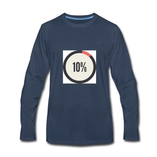 10% Album - Men's Premium Long Sleeve T-Shirt