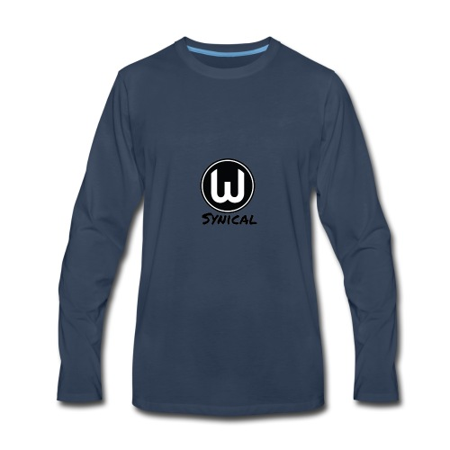 Synical logo - Men's Premium Long Sleeve T-Shirt
