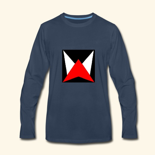 zoom logo - Men's Premium Long Sleeve T-Shirt