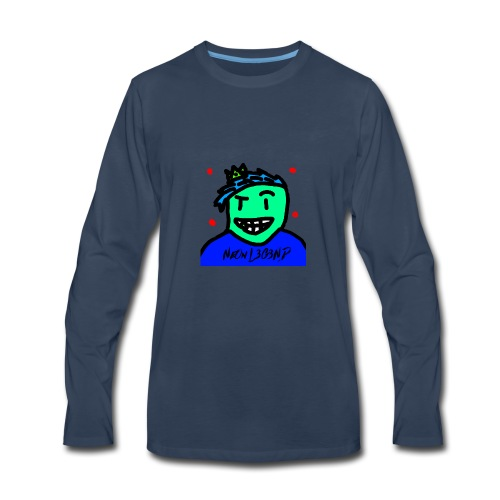 NeOn L3G3ND - Men's Premium Long Sleeve T-Shirt