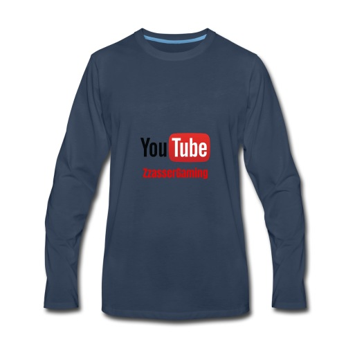 YouTube ZzasserGaming - Men's Premium Long Sleeve T-Shirt