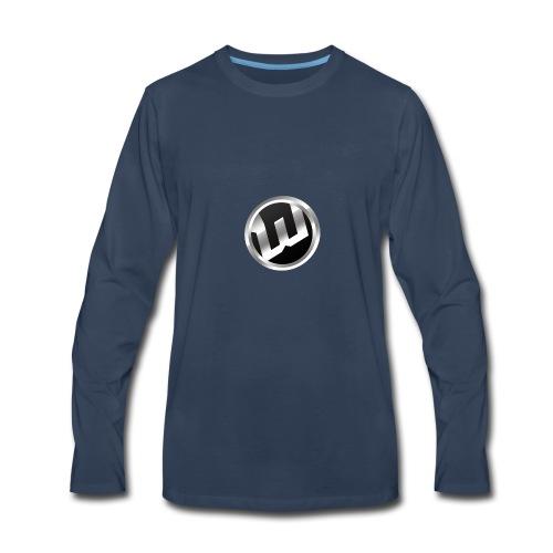 The Original WEBZO9 Logo - Men's Premium Long Sleeve T-Shirt