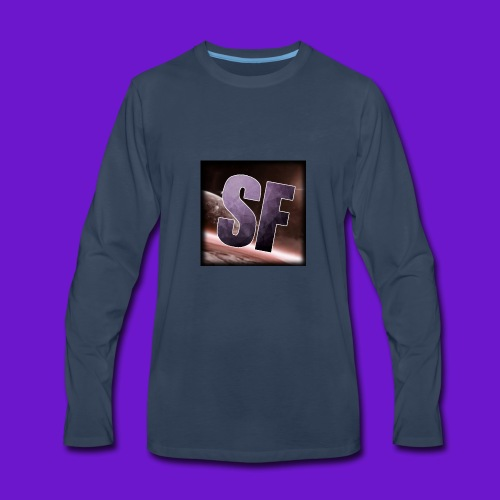 The SF logo - Men's Premium Long Sleeve T-Shirt