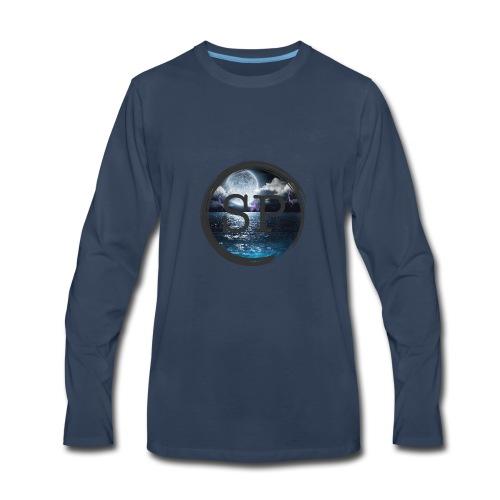 SHOCK PLAYZ WAVIES - Men's Premium Long Sleeve T-Shirt