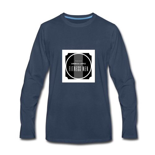 fitness men - Men's Premium Long Sleeve T-Shirt