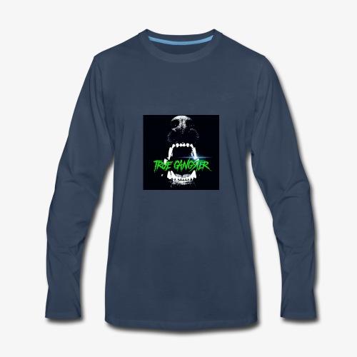 True Gangster Dog Eat Dog T-Shirt - Men's Premium Long Sleeve T-Shirt