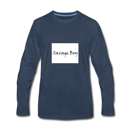 Savage Boy - Men's Premium Long Sleeve T-Shirt