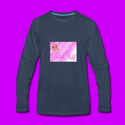 Cute little pink mug - Men's Premium Long Sleeve T-Shirt