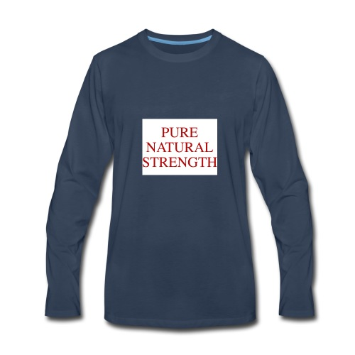 Natural Strength - Men's Premium Long Sleeve T-Shirt
