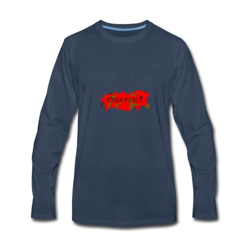 TreePLAYZ (RED EDTION) {NEW} - Men's Premium Long Sleeve T-Shirt