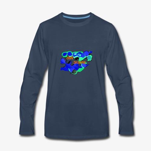 zion designs part1 - Men's Premium Long Sleeve T-Shirt