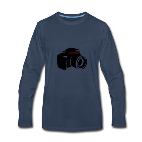 vlog for life - Men's Premium Long Sleeve T-Shirt