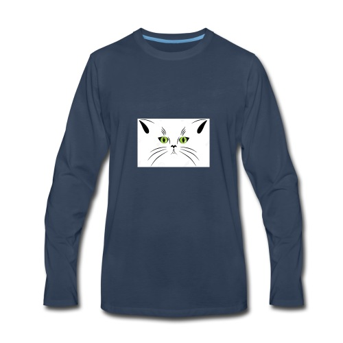 kitcat - Men's Premium Long Sleeve T-Shirt