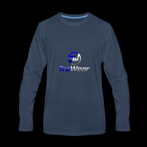 TRE Wear Logo - Men's Premium Long Sleeve T-Shirt