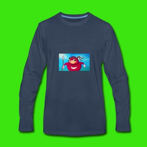 Do you know de wei - Men's Premium Long Sleeve T-Shirt