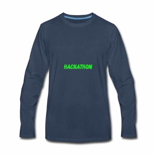 Hackaton - Men's Premium Long Sleeve T-Shirt