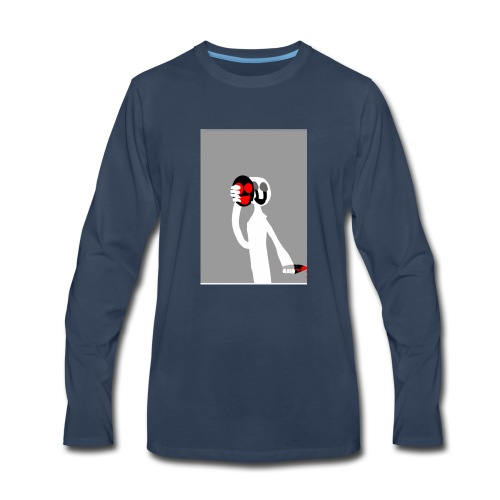 The new side of me - Men's Premium Long Sleeve T-Shirt