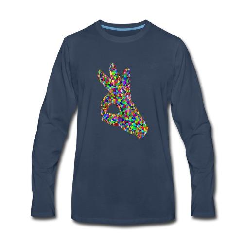 Perfect Hand Sign T-SHIRT - Men's Premium Long Sleeve T-Shirt