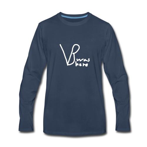 VB Was Here - Men's Premium Long Sleeve T-Shirt