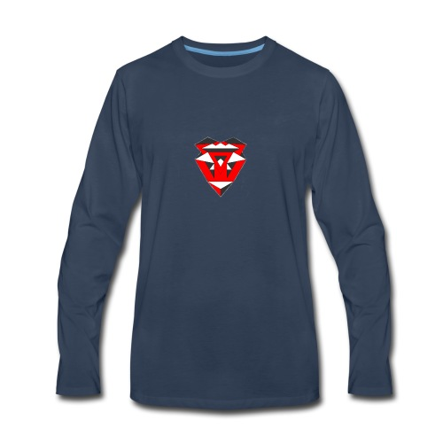 IntricateLove Heart - Men's Premium Long Sleeve T-Shirt