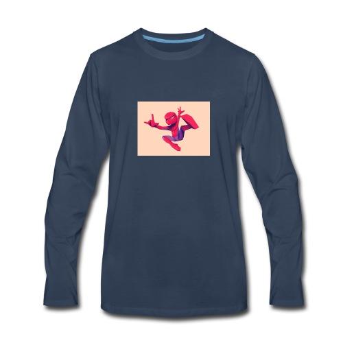spiderman - Men's Premium Long Sleeve T-Shirt