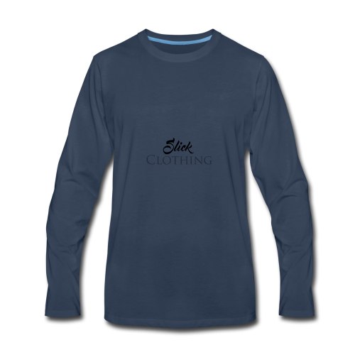 Slick Clothing - Men's Premium Long Sleeve T-Shirt