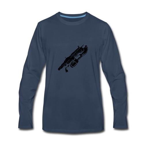 Gears of war lancer - Men's Premium Long Sleeve T-Shirt
