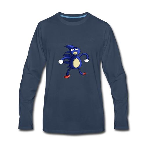 Sanic - Men's Premium Long Sleeve T-Shirt
