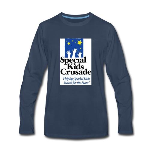 SKC Logo CircleR RGB - Men's Premium Long Sleeve T-Shirt