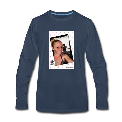 Alyssa Hart Selfie T-Shirt - Men's Premium Long Sleeve T-Shirt
