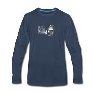 I FEEL LIKE DEATH - Men's Premium Long Sleeve T-Shirt