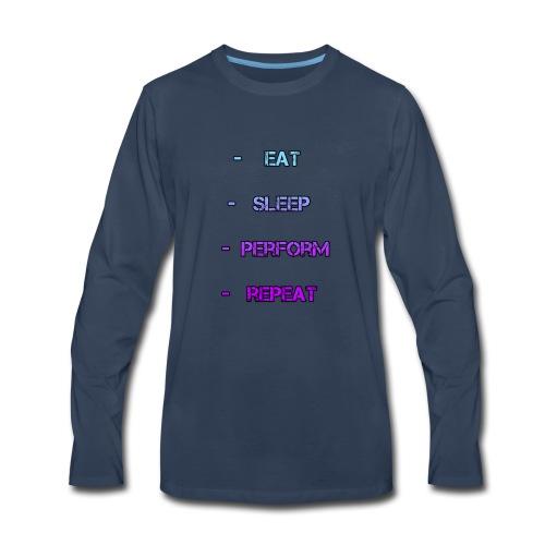 littlelaurzs productions T-shirt - Men's Premium Long Sleeve T-Shirt