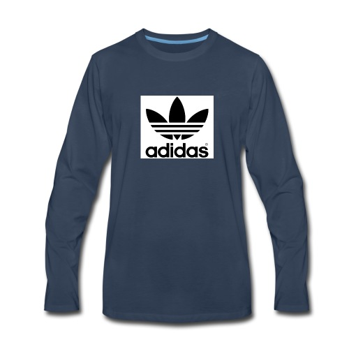 a d i d a s - Men's Premium Long Sleeve T-Shirt