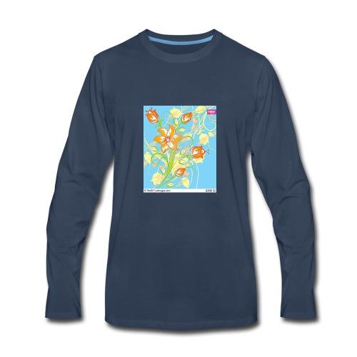 flowers67 - Men's Premium Long Sleeve T-Shirt
