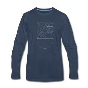 The Golden Rule - White - Men's Premium Long Sleeve T-Shirt