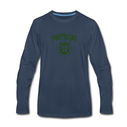 Vintage Portugal - Men's Premium Long Sleeve T-Shirt