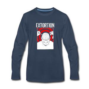 Extortion Brain - Men's Premium Long Sleeve T-Shirt
