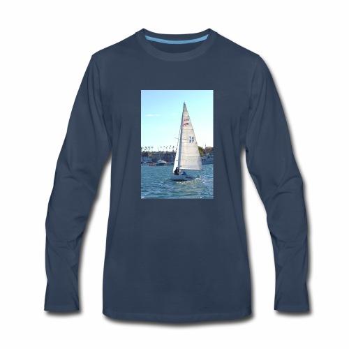Sea, Sun, and Sails - Men's Premium Long Sleeve T-Shirt