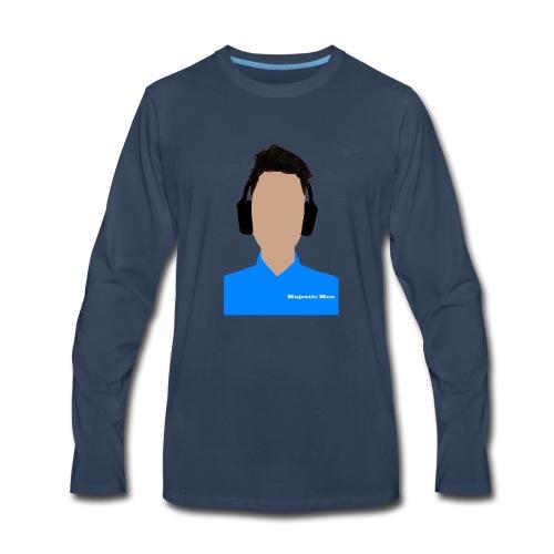 Majestic Men - Men's Premium Long Sleeve T-Shirt
