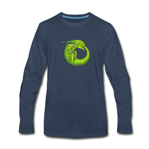 Alien Ouroboros - Men's Premium Long Sleeve T-Shirt