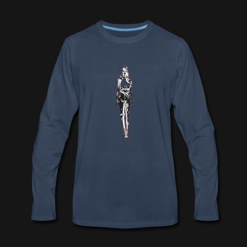 IRON GIRL - Men's Premium Long Sleeve T-Shirt