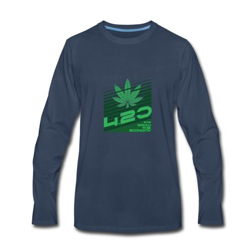 420 grow the economy 2018 - Men's Premium Long Sleeve T-Shirt