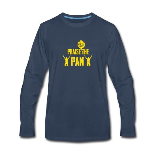 Praise the pan - Men's Premium Long Sleeve T-Shirt
